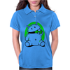 Android Eats Battery Womens Polo