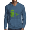 Android Peeing On Apple Cool Mens Hoodie