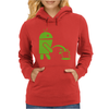 Android Peeing On Apple Cool Womens Hoodie