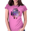 Android Womens Fitted T-Shirt