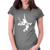 Andy Tennis Womens Fitted T-Shirt