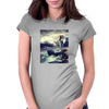 Angel Of The Sea. Womens Fitted T-Shirt