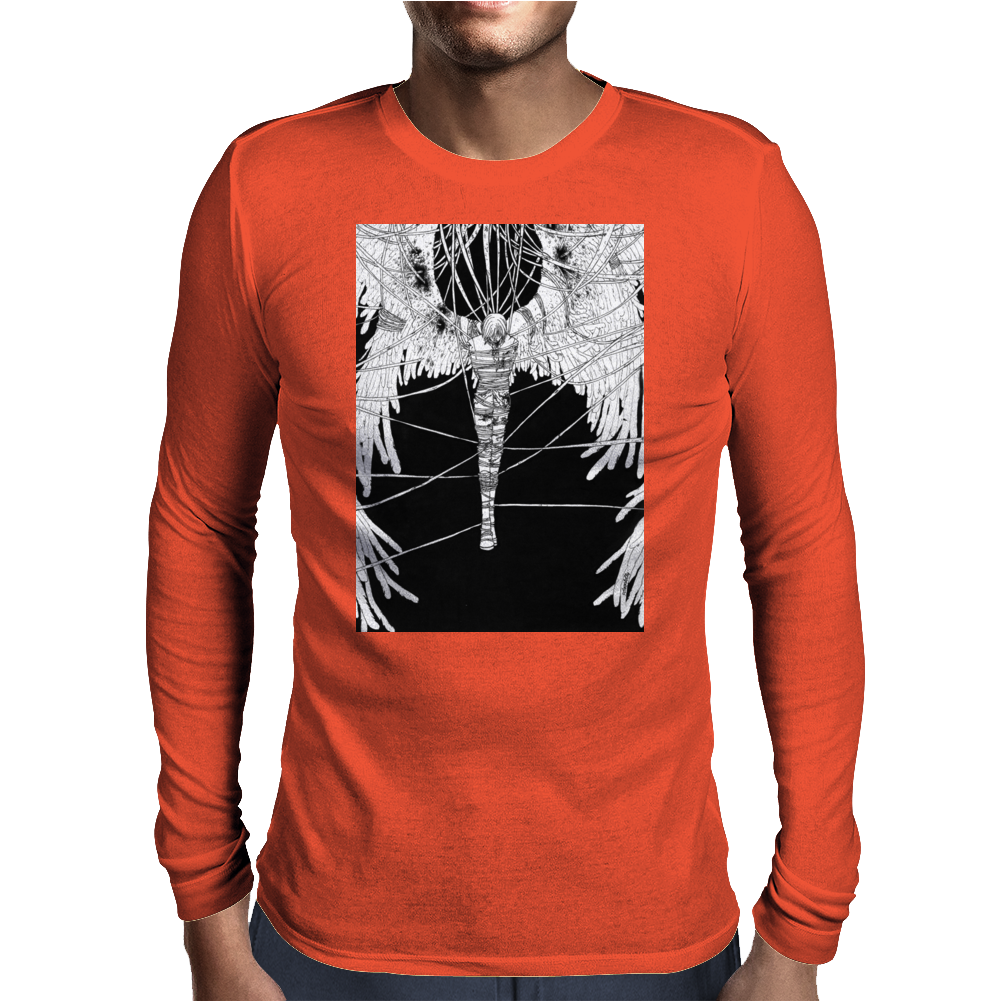 Angel Sava Captured By The Darkness Mens Long Sleeve T-Shirt
