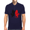 Angel Vs Devil Mens Polo