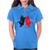 Angel Vs Devil Womens Polo