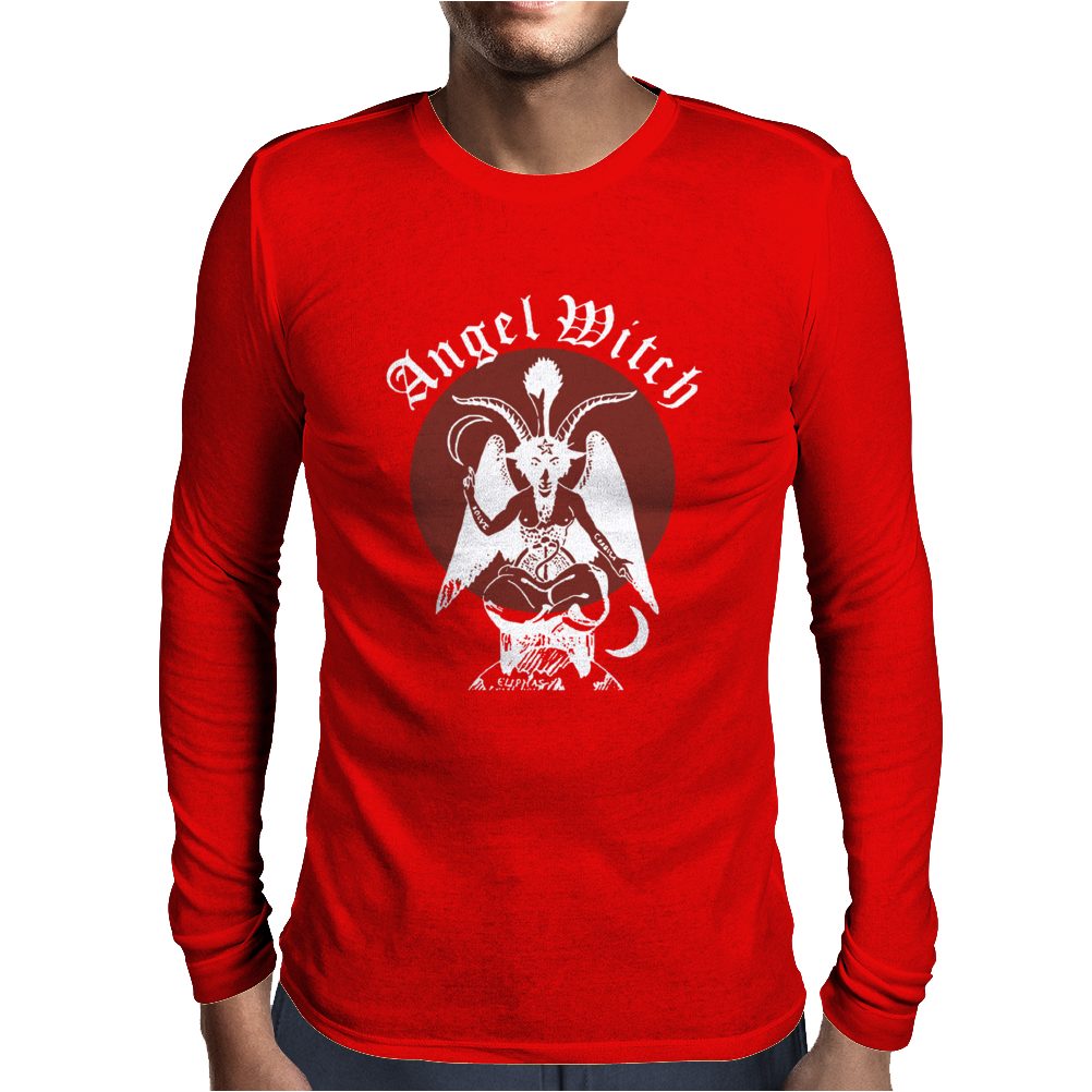 ANGEL WITCH Lucifer Mens Long Sleeve T-Shirt
