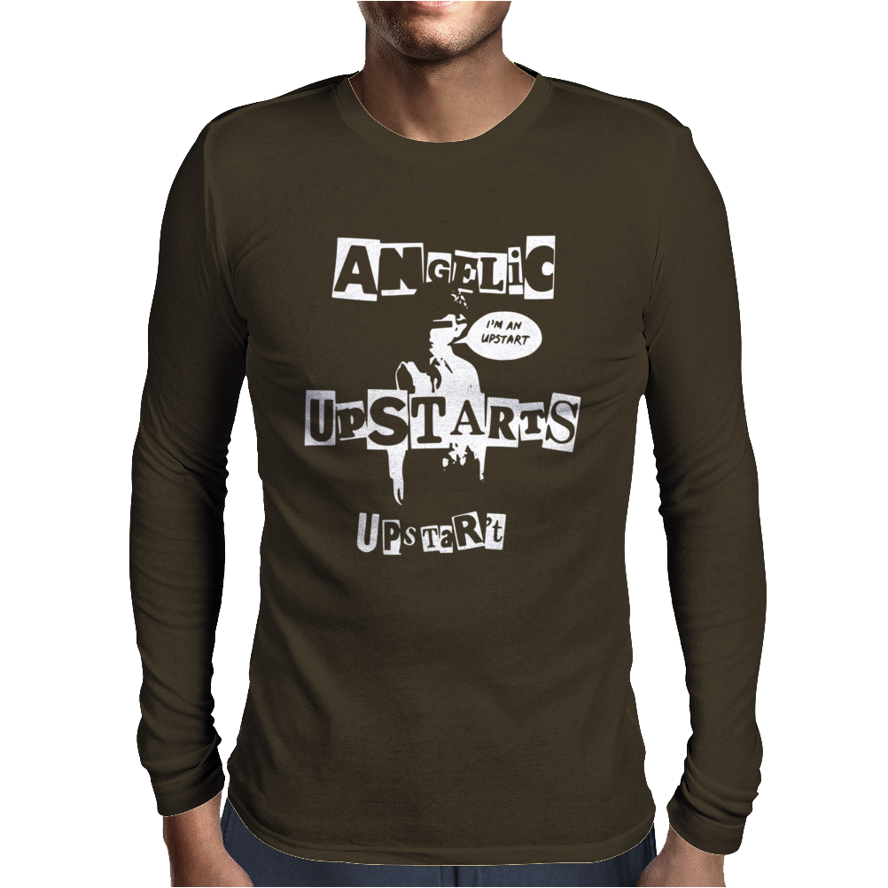 Angelic Upstarts Mens Long Sleeve T-Shirt