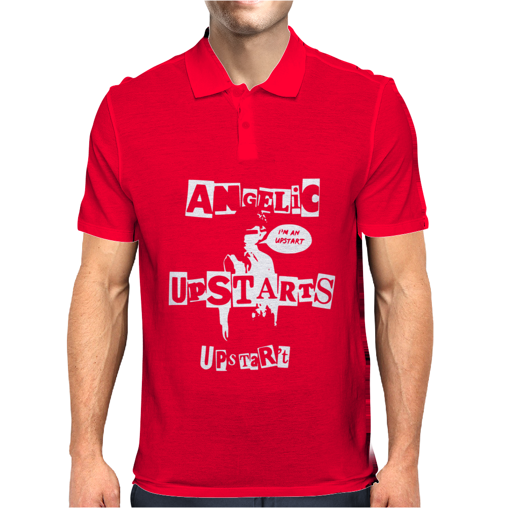 Angelic Upstarts Mens Polo