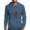 Angler Fish with Green Light Bulb Mens Hoodie