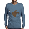 Angler Fish with Green Light Bulb Mens Long Sleeve T-Shirt