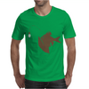 Angler Fish with Green Light Bulb Mens T-Shirt