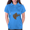 Angler Fish with Green Light Bulb Womens Polo