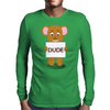 angry bear Mens Long Sleeve T-Shirt