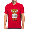 angry bear Mens Polo
