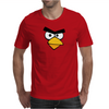 Angry Birds - Red Bird Face - Video Game Character - Gaming Design Mens T-Shirt