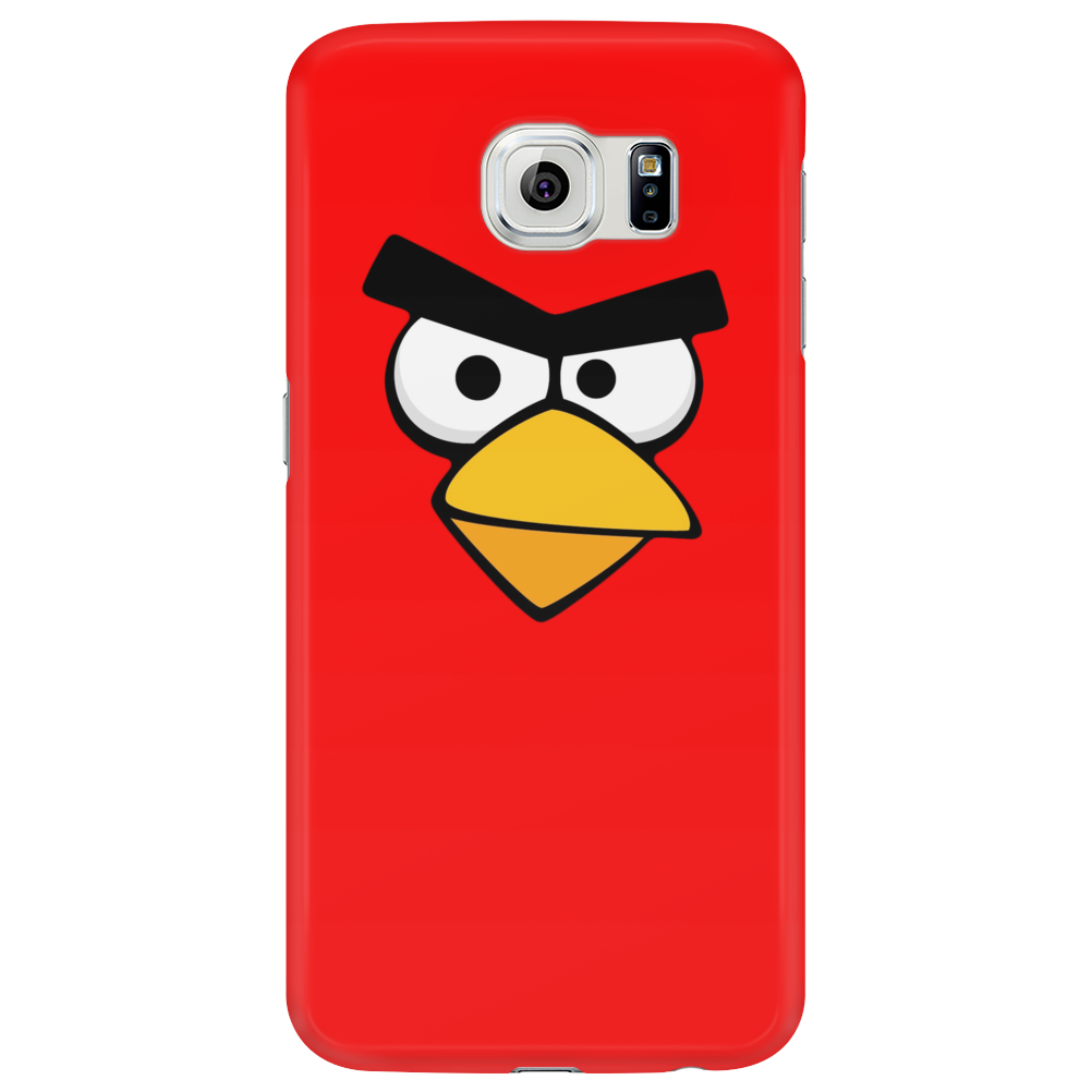 Angry Birds - Red Bird Face - Video Game Character - Gaming Design Phone Case