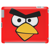 Angry Birds - Red Bird Face - Video Game Character - Gaming Design Tablet