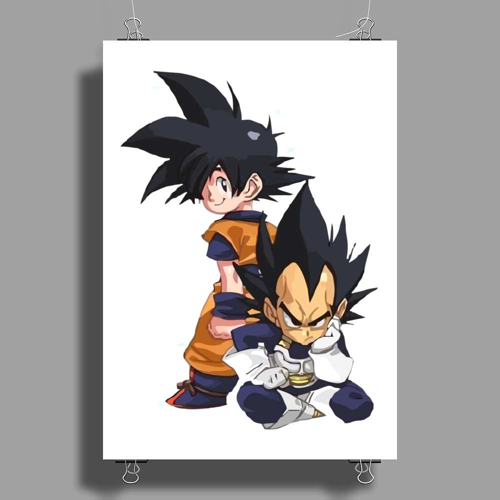 angry boy Poster Print (Portrait)
