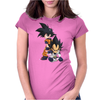 angry boy Womens Fitted T-Shirt