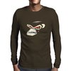 Angry Monkey Mens Long Sleeve T-Shirt