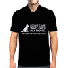 Animal dog lover PETA Love rescue Mens Polo