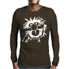 ANIMAL DRUMMER THE MUPPETS Mens Long Sleeve T-Shirt