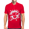 ANIMAL DRUMMER THE MUPPETS Mens Polo