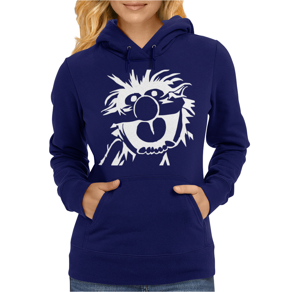ANIMAL DRUMMER THE MUPPETS Womens Hoodie