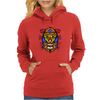 Animal Face  poster Womens Hoodie