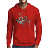 Animal Fishing Tee Graphic Mens Hoodie