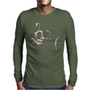 Animal Fishing Tee Graphic Mens Long Sleeve T-Shirt