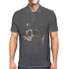 Animal Fishing Tee Graphic Mens Polo