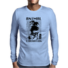 Animal Liberation Mens Long Sleeve T-Shirt