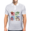 animals heroes Mens Polo
