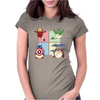 animals heroes Womens Fitted T-Shirt