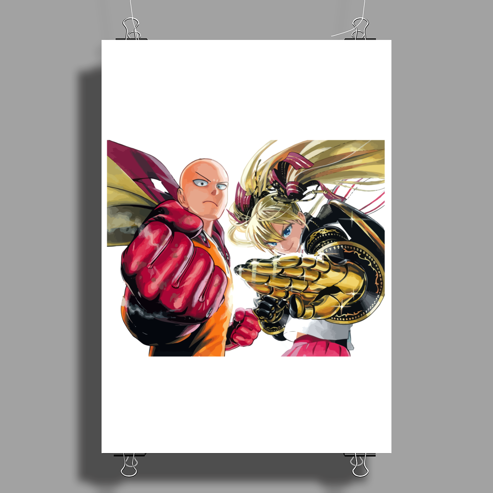 anime one Poster Print (Portrait)