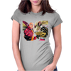 anime one Womens Fitted T-Shirt