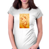 Anime Smile Womens Fitted T-Shirt