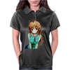 anime woman Womens Polo