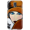 ANNA  BLACK FEATHER ANNA Phone Case