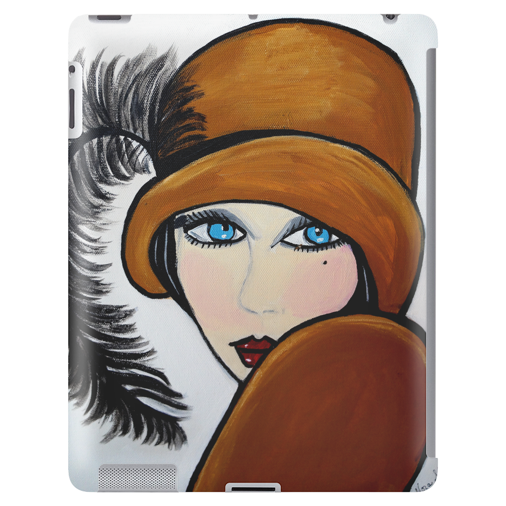 ANNA  BLACK FEATHER ANNA Tablet (vertical)