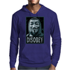 Anonymous , Disobey Mens Hoodie
