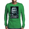 Anonymous , Disobey Mens Long Sleeve T-Shirt