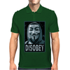 Anonymous , Disobey Mens Polo
