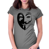 Anonymous Vendetta Womens Fitted T-Shirt