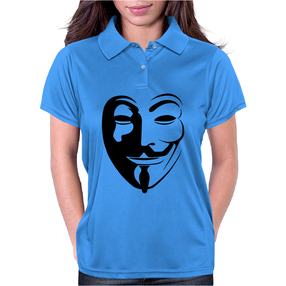 Anonymous Vendetta Womens Polo