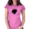 Antenna planet Womens Fitted T-Shirt