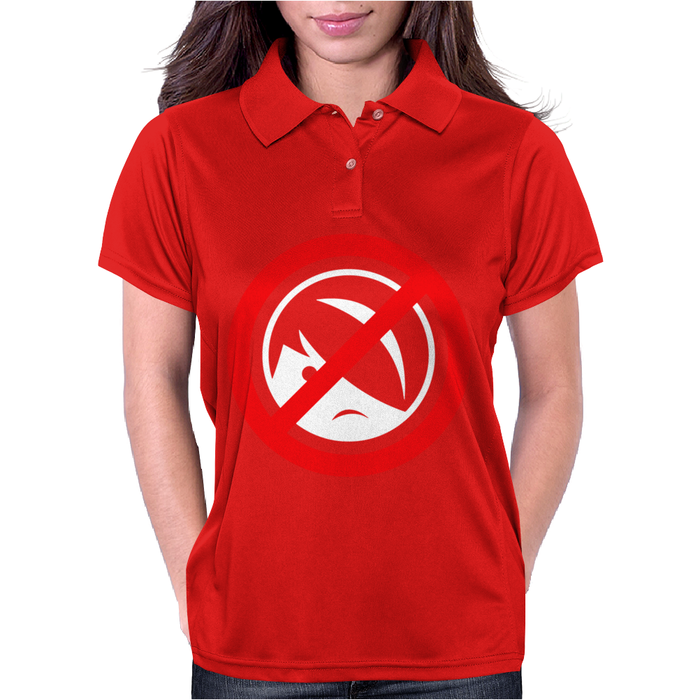 Anti Emo Womens Polo