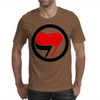 Anti-Fascist flags Mens T-Shirt