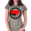 Anti-Fascist flags Womens Fitted T-Shirt